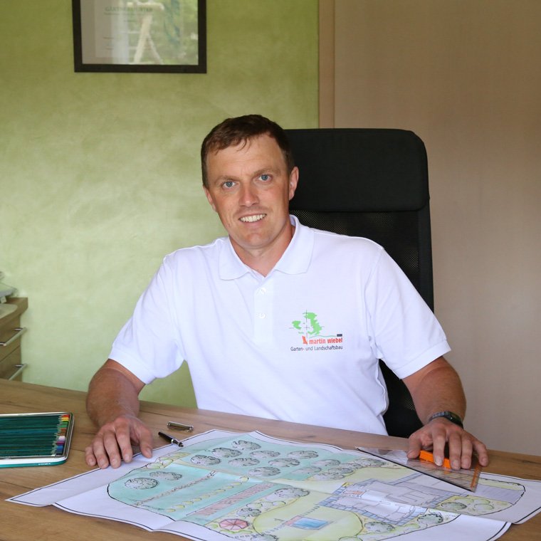 Martin Wiebel, Gärtnermeister für Garten- und Landschaftsbau