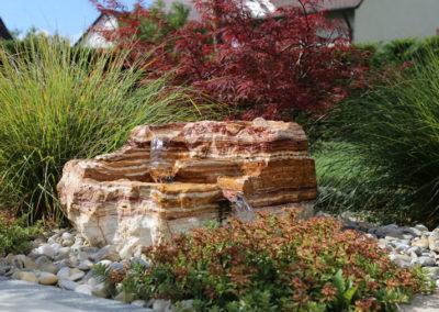 Naturstein im Garten - Martin Wiebel Gala Bau