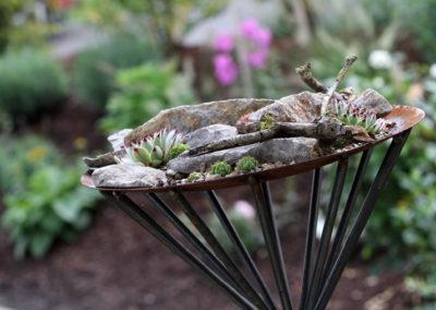 Referenzen, Schale mit Bepflanzung - Martin Wiebel
