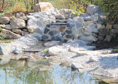 Referenzen, Teich mit Garten, Martin Wiebel